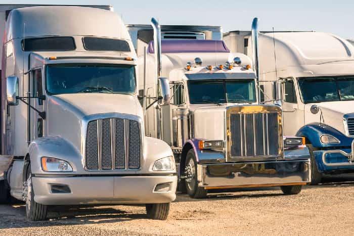 Large Trucks, Buses, Semis & Tractors